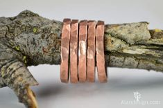 Super Thick Stackable Copper Ring(s)Copper RingsStackable Rings Copper Ring Hammered Copper Copper Band Arthritis Ring Copper Jewelry by Alaridesign Copper Rings, Hammered Copper, Pure Copper, Copper Jewelry, Gold Rings, Measure Ring Size, Skinny Rings, Stackable Rings, Copper Color