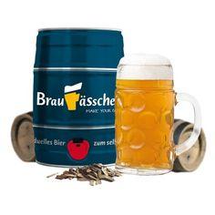 Keine Lust mehr aufs elende Bierkästen-Schleppen? Mach's Dir doch einfach selbst – also das Bier. Mit diesem Set kannst Du Dein eigenes Bier nun ganz leicht selber brauen. via: www.monsterzeug.de