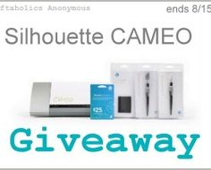 I want to win this Silhouette Cameo GIVEAWAY!