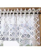 Diamond Lace Valance (free pattern)