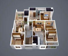Mặt bằng thiết kế căn hộ chung cư mini Nhật Tảo