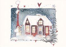 Новый год уже совсем скоро, и хоть снега у нас ещё нет, но новогоднее настроение я создаю себе и своей семье заранее: рисую узоры на окнах, покупаю открытки и…