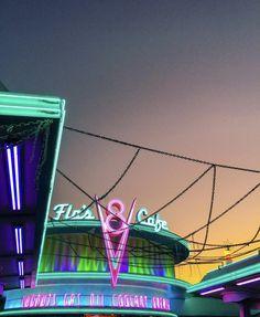 Radiator Springs, Radiators, Fair Grounds, Neon Signs, Fun, Travel, Viajes, Radiant Heaters, Destinations