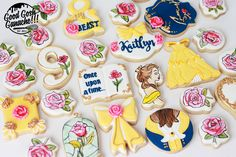 Tale as old as time. Beauty and the Beast cookie Healthy Foods To Eat, Healthy Recipes, Skin Logo, Beauty Makeup Photography, Flower Video, Baby Girl Birthday, Disney Beauty And The Beast, Rose Cake, Whole Foods Market