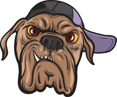28503801-illustration-of-angry-dog-face-in-cap.jpg (450×372)