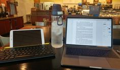 The Mobile Attorney Author & Blogger Work Station 2.0!  Got two screens wherever I go now! Now I can review estate plans twice as fast! (not really but I'm pretty fast lol). I was having trouble with my laptop and it put me out of work for a few days. If