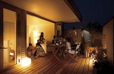 イ空の真下の家族の遊び場。BBQやホームパーティなど楽しみ方はいろいろ。メージ