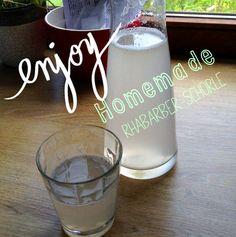 Rhabarber-Sirup...Enjoy!