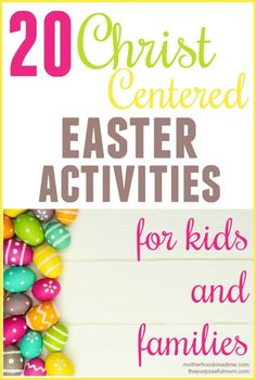 20 Christ-Centered Easter Activities for Kids and Families - The Purposeful Mom