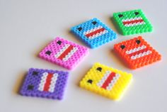 to make with perler beads Perler Beads, Fuse Beads, Melty Bead Patterns, Perler Patterns, Beading Patterns, Art Hama, Pixel Beads, Iron Beads, Melting Beads