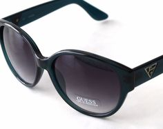 f6bf88ac9b61 Authentic GUESS Women GU 7221 Blue Teal Wayfarer Sunglasses With Cloth for  sale online