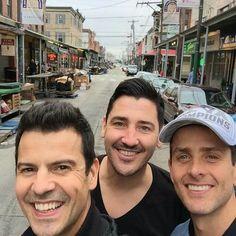 Jordan Joe and Jon in South Philly