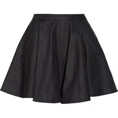Chalayan Denim circle skirt found on Polyvore