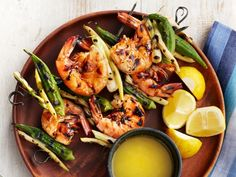 The unlikely pairing of seafood seasoning and sherry creates a savory, sweet butter with slight notes of toffee in this recipe for Shrimp and Okra Kebabs.