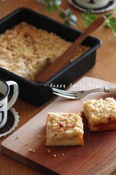 「アーモンドクランブル・チーズケーキ。」ChococoHS | お菓子・パンのレシピや作り方【corecle*コレクル】