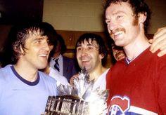 Serge Savard, Guy Lapointe, and Larry Robinson, Montreal Canadiens Montreal Canadiens, Hockey Teams, Hockey Players, Star Wars, Big Three, Minnesota Wild, National Hockey League, Club, Nhl