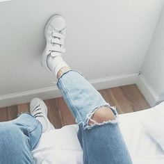 Three strap sneakers |  @rach_louey | #blancxivoire