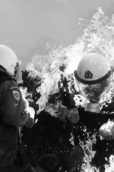fascists on fire