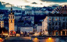 Lyon, la place Antonin Poncet