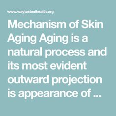 Mechanism of Skin Aging Aging is a natural process and its most evident outward projection is appearance of wrinkles and fine lines. Our skin start aging from the late 20s but its effects become more apparent as we age. Collagen and elastin are the two major proteins that are the basis or cell structure which... Continue Reading →