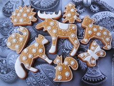 Christmas Gingerbread, Christmas Candy, Christmas Baking, Gingerbread Cookies, Bear Cookies, Cupcake Cookies, Animal Cookie Cutters, Biscuits, Honey Buns