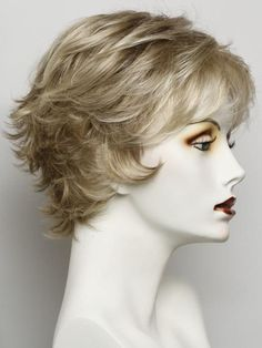 R1621S+ GLAZED SAND   Dark Natural Blonde with Cool Ash Blonde Highlights on Top