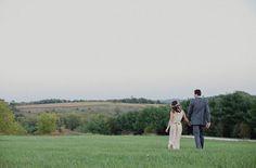 The bride wore BHLDN #BHLDNbride