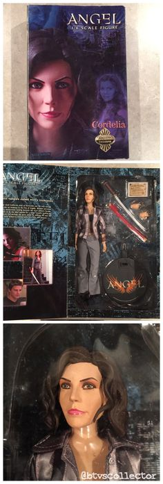 "Sideshow Collectibles (1:6 Scale) 12"" Angel Figure - Cordelia - Exclusive - Limited to 1500.  #btvscollector #btvs #buffy #buffythevampireslayer"