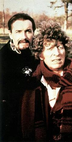 Fourth Doctor (Tom Baker) and Master (The Best Master)