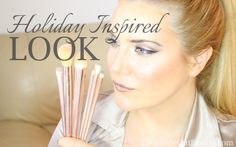 HOLIDAY LOOK with Sephora Happy Holiday Glitter Brush Set | TheInsideOut...