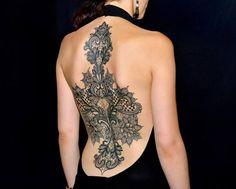 Tattoo am Rücken - coole Idee