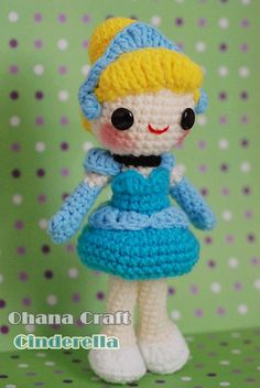 Cinderella-05 by Ohana Craft, via Flickr