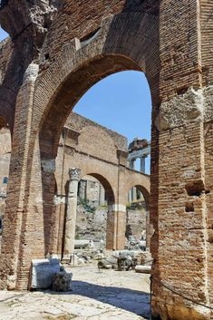Basilica Julia at Roman Forum in city of Rome, Italy Rome History, Ancient History, Rome Travel, Italy Travel, Beautiful Sites, Beautiful Places, Roman Forum, Ancient Rome, Romans