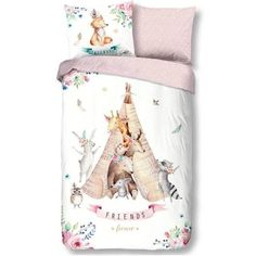 Good Morning Teepee Dekbedovertrek 140 x 220 cm Good Morning, Christmas Stockings, Holiday Decor, Home Decor, Tipi Tent, Friends Forever, Products, Cover Pillow, Beds