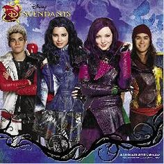 2016 Disney Descendants Calendar,I need this since it is s new year and my other one is from 2015