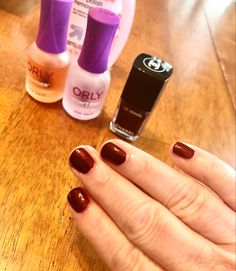 It took me 27 years to try (and afford) the most famous nail color of all time. @Chanel debuted it in 1994 & created a sensation. I love it! #ChanelVamp #WorthEveryPenny #Vamp #Chanel #nailpolish