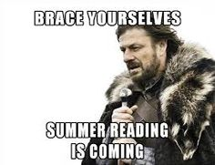 library meme game of thrones summer reading