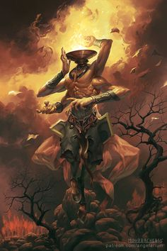 Uriel, Angel of Flame