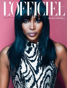 Naomi Campbell for L'Officiel Ukraine by An Le