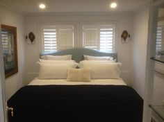 Serene bedroom with King size bed