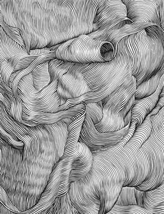 Contour line drawing by Markus Raetz. Dashed and Contour Line drawings. Complex Simplicity in a Black-White Artworks Zentangle Drawings, Art Drawings, Drawing Art, Drawing Tips, White Board Drawings, Horse Drawings, Drawing Faces, Drawing Lessons, Drawing Techniques