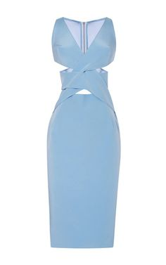Interlock Silk Dress by Dion Lee for Preorder on Moda Operandi