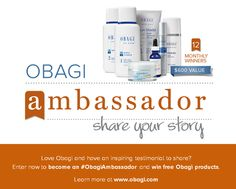 Chance to win $600 in products from @Obagi Medical Products and a 3-day Spa Getaway for 2 valued at $3,000. http://www.chicluxuries.com/2013/11/obagi-ambassador-program-tons-of-prizes.html