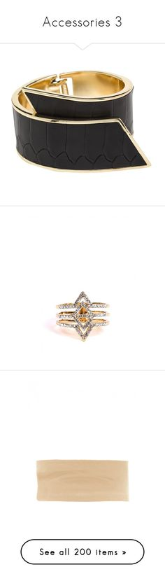 """""""Accessories 3"""" by efiaeemnxo ❤ liked on Polyvore featuring jewelry, bracelets, accessories, black python, cuff bangle, anaconda jewelry, 18k bangle, 18 karat gold jewelry, neon pink jewelry and rings"""