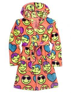 Emoji Fleece Robe