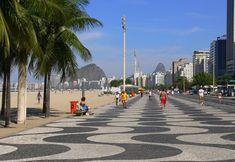 25 of the Coolest Beaches in the World, Copacabana Beach, Rio de Janeiro
