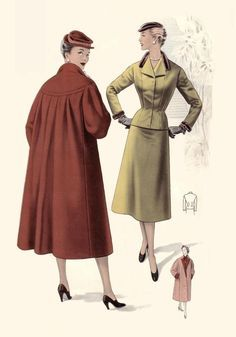 Image result for 1950's womens officewear