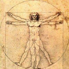 L'homme de Vitruve de Léonard de Vinci