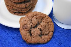 The Kitchen is My Playground: Nutella Chocolate Chip Cookies {Crazy Cooking Challenge}