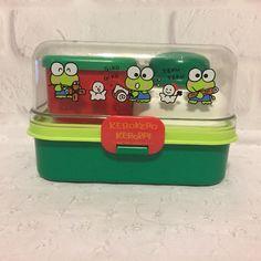 Vintage Sanrio Kero Keroopi Lunch Box Set 1990 | Collectibles, Animation Art & Characters, Japanese, Anime | eBay!